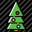 christmas, fir, tree, xmas icon