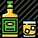 alcohol, bar, rum, whiskey icon
