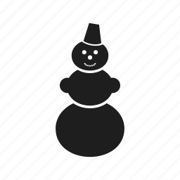 celebration, christmas, event, holiday, new year, snowman icon