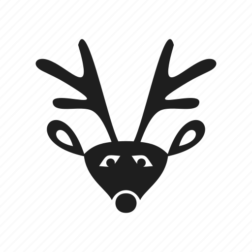 celebration, christmas, deer, event, holiday, new year, reindeer icon