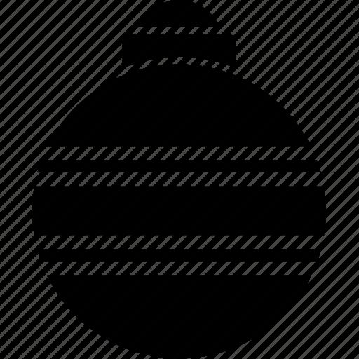 ball, christmas, decoration, ornament, xmas icon