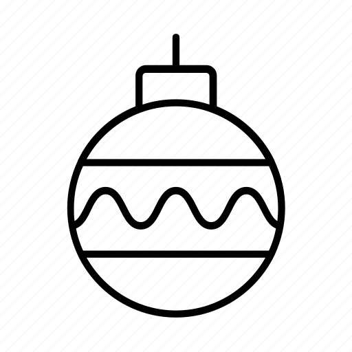 ball, christmas, decoration, ornament, xmas icon