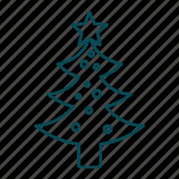 celebration, christmas, christmas decoration, christmas tree, decoration, new yeat, star icon
