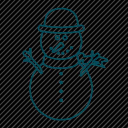 christmas, cold, snow, snowflakes, winter icon