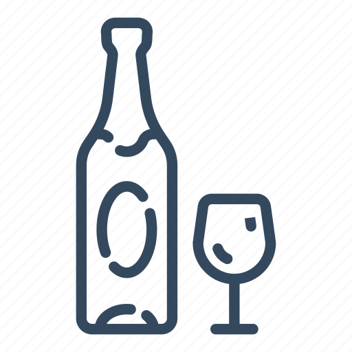 alcohol, champagne, christmas, drink, new year, party, xmas icon