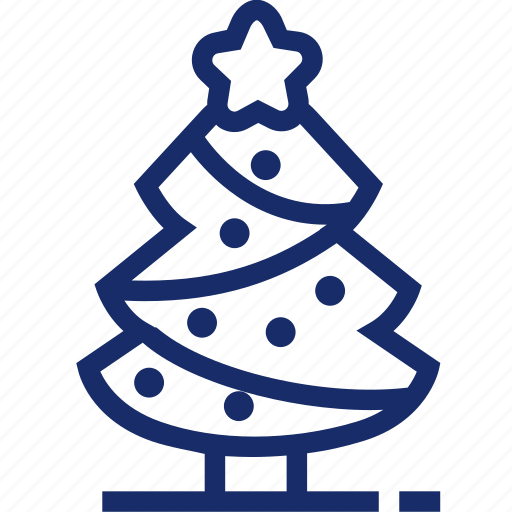 christmas, christmas tree, fir-tree, new year, ornament, xmas icon