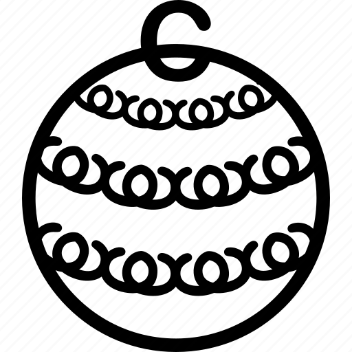 ball, christmas, decor, decoration icon