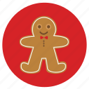 candy, candy man, christmas, cookie, gingerbread, man, men, new, year icon