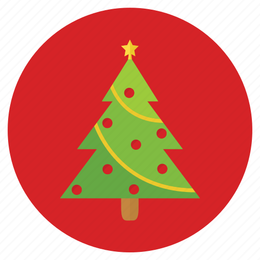 christmas, christmas tree, new, tree, year icon