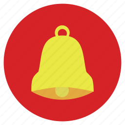 alarm, bell, christmas, golden, new, ornament, season, x-mas, year icon