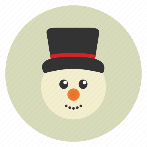 christmas, new, snow, snow man, winter, x-mas, year icon