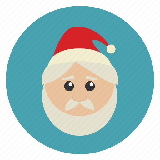 christmas, claus, kringle, new, nicholas, saint nicholas, santa, santa claus, x-mas, year icon