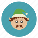 christmas, elf, minion, new, servant, year icon