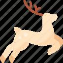 animal, christmas, deer, nature, reindeer, winter, xmas