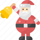 avatar, bell, christmas, claus, ring, santa, xmas