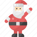 avatar, christmas, claus, santa, standing, winter, xmas