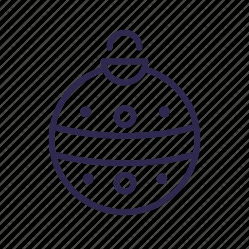 ball, bauble, christmas icon