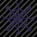 christmas, crystal, silhouette, snowflake icon