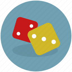 casino, challenge, cubes, dice, gamble, lottery, play, random, single die icon