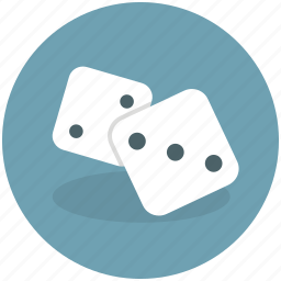 activity, casino, chance, cubes, dice, fortune, gamble, gamification, lottery, play, random, single die icon