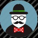 beard, creative, dresscode, hipster, masquerade, mustache, style icon
