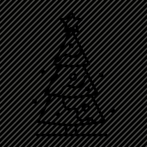 celebration, christmas, christmas decoration, christmas star, christmas tree, xmas icon