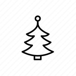 .svg, christmas, christmas tree, tree icon