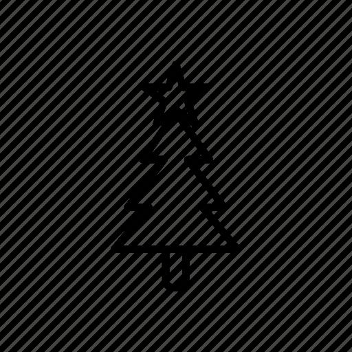.svg, christmas tree, star, tree icon