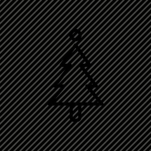 .svg, christmas tree, tree icon