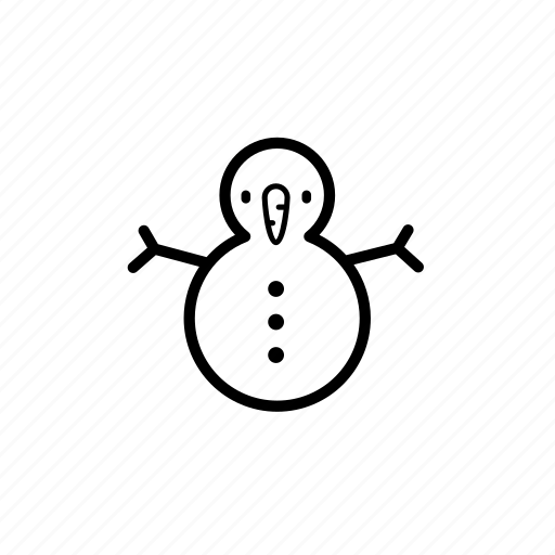 .svg, snowman, winter, xmas icon