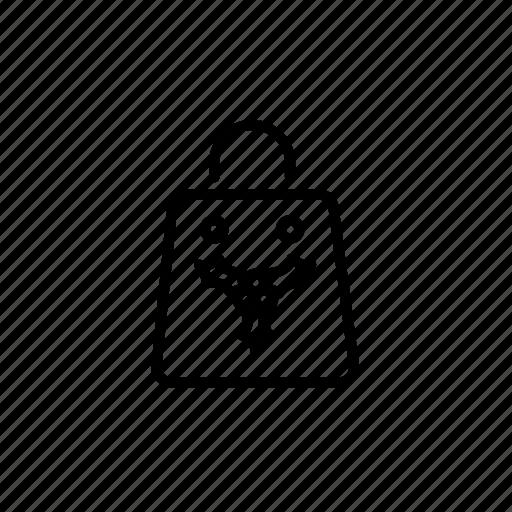 .svg, mistletoe, shopping bag, winter, xmas icon
