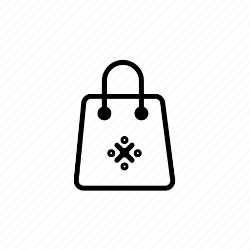 .svg, shopping bag, winter, xmas icon