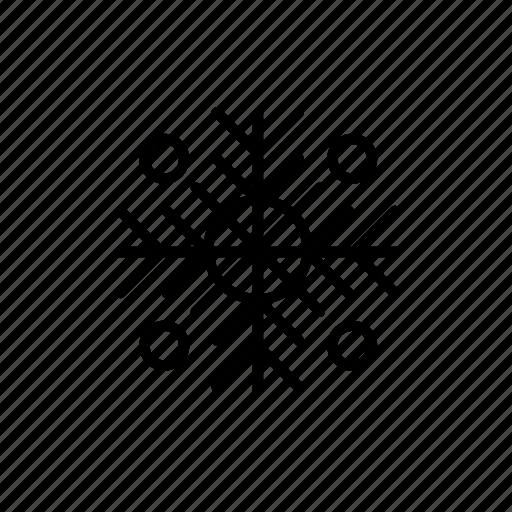 .svg, flake, snow, winter icon