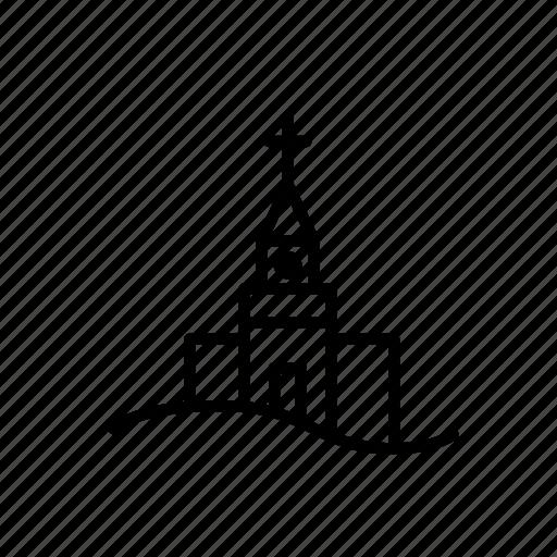 .svg, christmas, church, cross icon