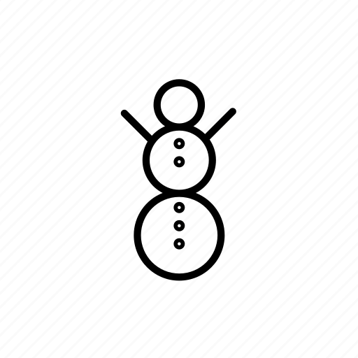 .svg, christmas, cold, snowman icon