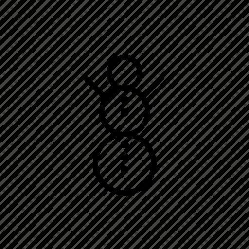 .svg, christmas, snow, snowman icon
