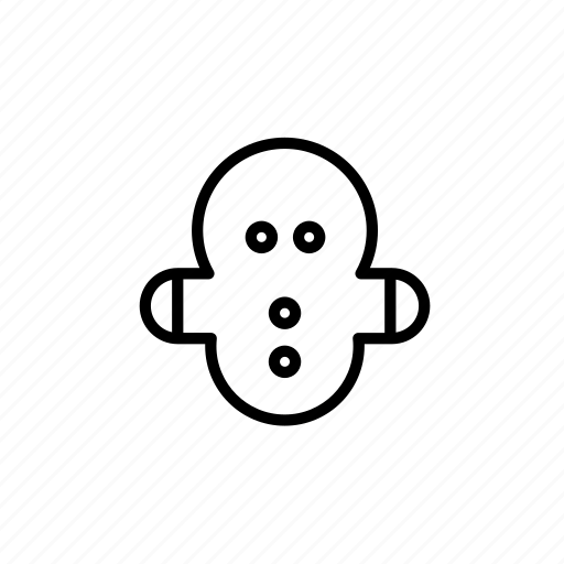 .svg, christmas, cookie, gingerbread cookie, winter icon