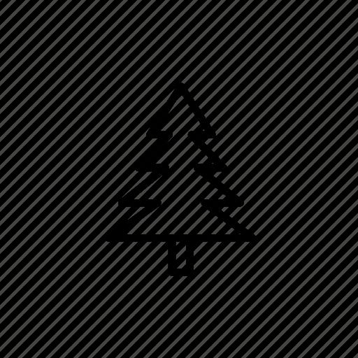 .svg, christmas, tree, winter icon