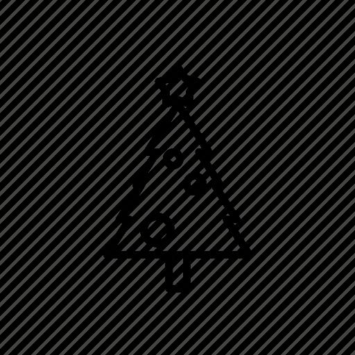 .svg, christmas ornament, christmas tree, star icon