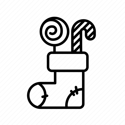 .svg, candy, christmas, holiday, stocking stuffers, stockings icon