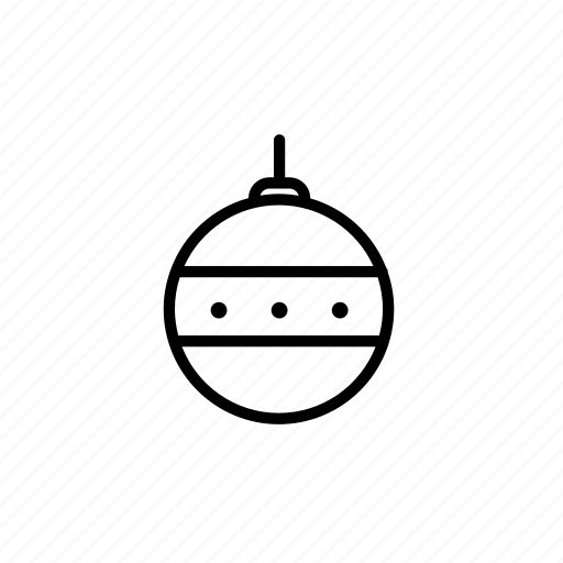 .svg, christmas, christmas ornament, holiday icon