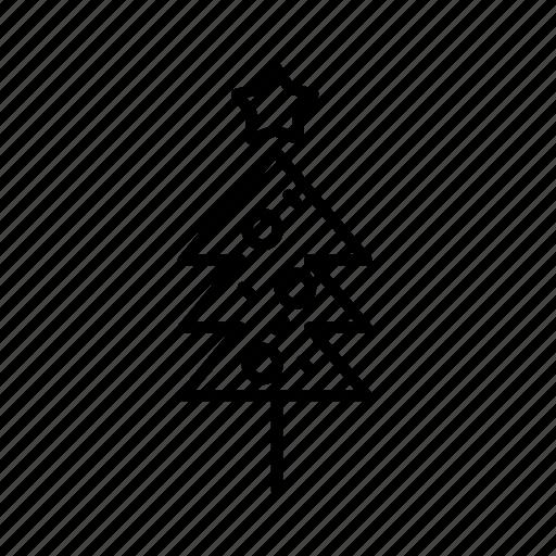 .svg, christmas, christmas tree, star icon