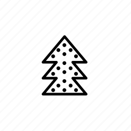 .svg, christmas tree icon