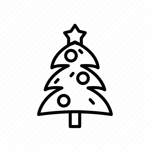 .svg, christmas tree, star icon