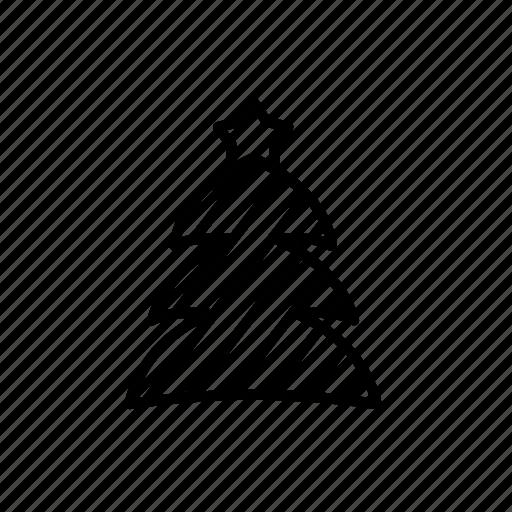 .svg, christmas, star icon