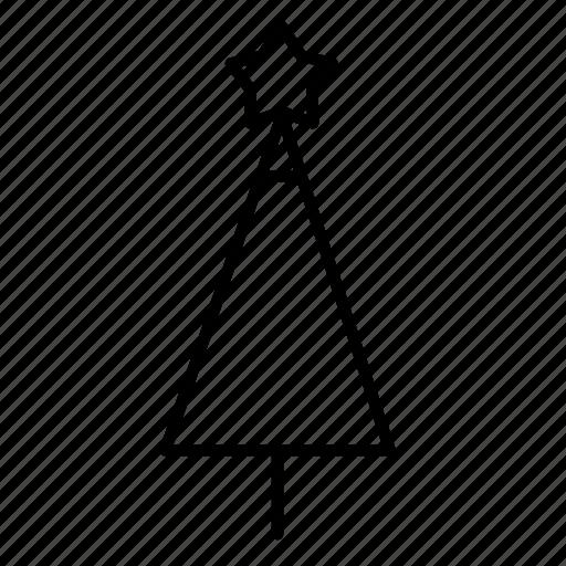 .svg, christmas tree, star icon