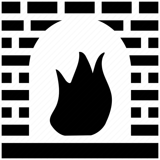 bake, cook, cooking, fire, oven, pizza, stone icon