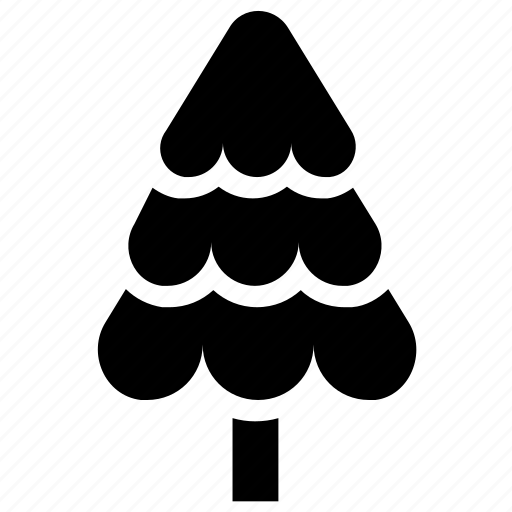 black, christmas, nature, pine, pines, tree, xmas icon