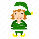christmas, elf, gnome icon, helper icon