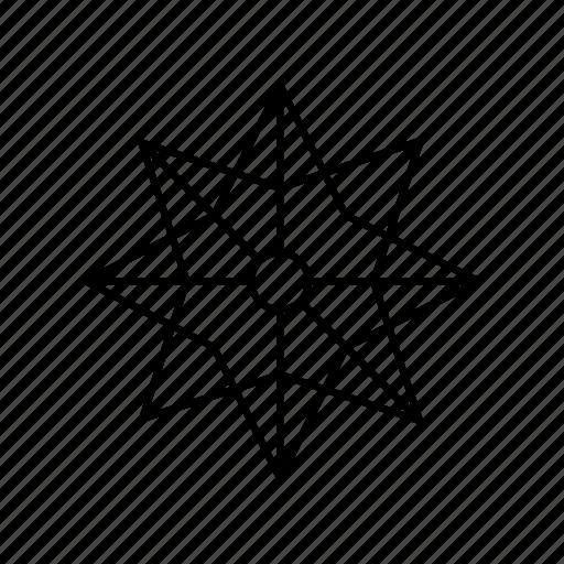christmas, christmas star, christmas tree, folding, merry christmas, origami, star icon